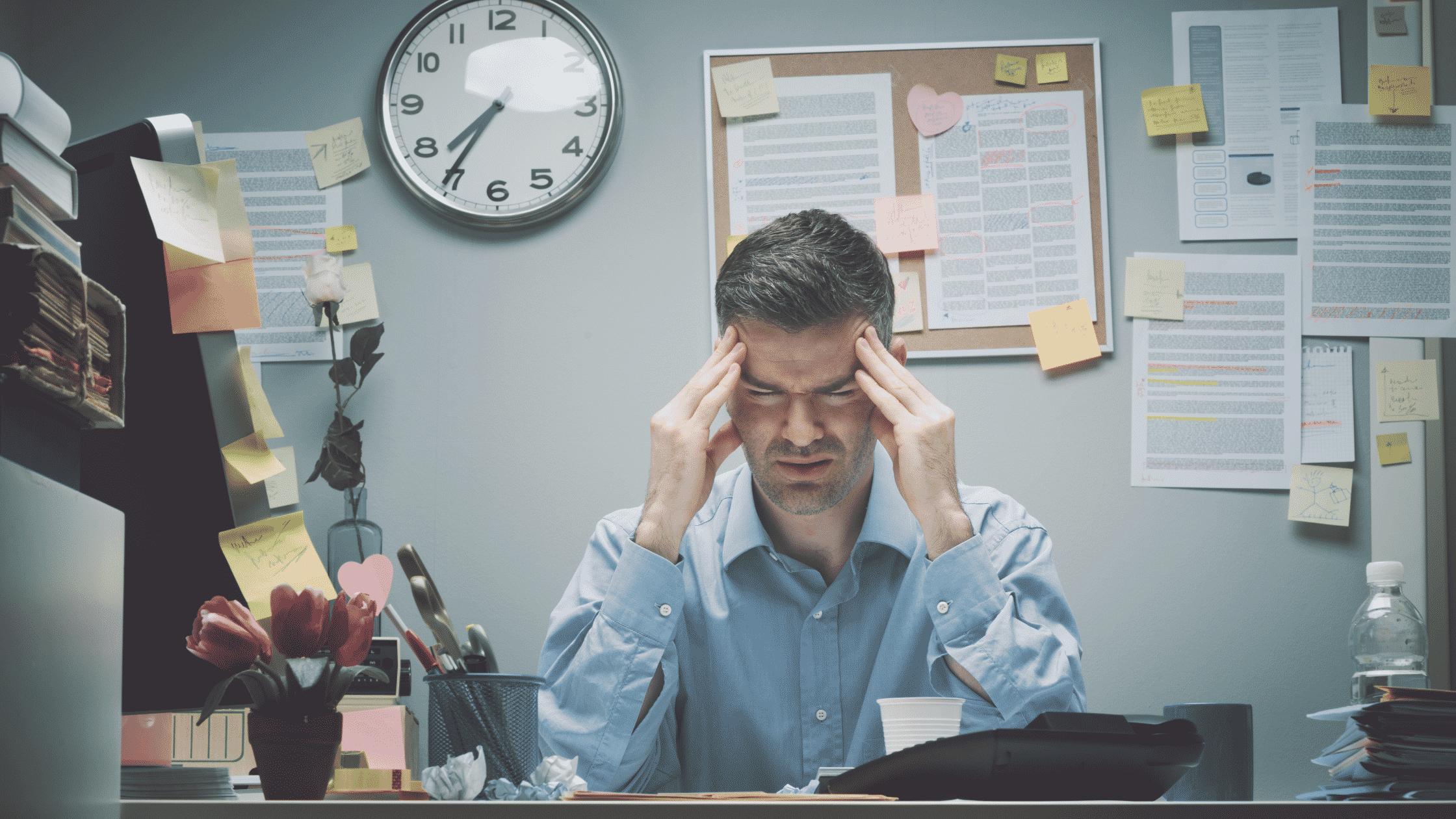 כאב ראש לפני מעמ